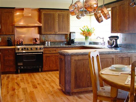 oak kitchen cabinets pictures options tips ideas hgtv old kitchen cabinets pictures options tips ideas hgtv