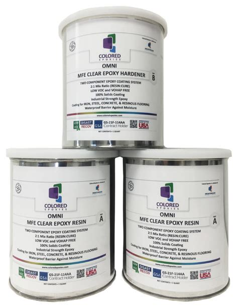 clear epoxy resin coating for wood tabletop concrete