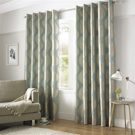 grey green curtains ashley wilde simone lined eyelet curtains duck egg