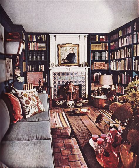 literature s living room at home with s classic novelists books 60s interior design summermixtape