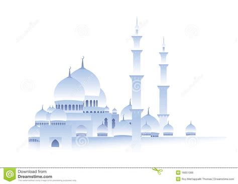wallpaper masjid hitam putih white mosque royalty free stock image image 16651066