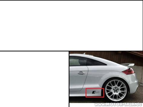 Audi Tt Aufkleber by Aufkleber Audi Tts Aufkleber Audi Tt 8j 205850288