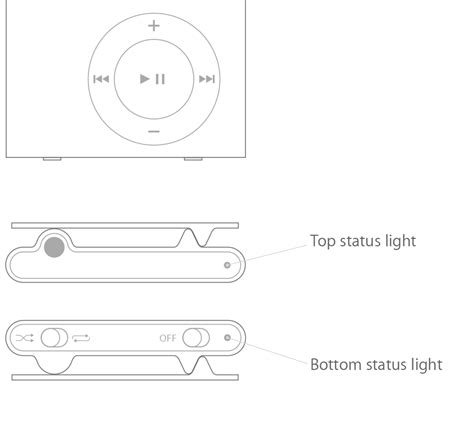 ipod shuffle charger 1st generation check the status light and battery charge on your ipod