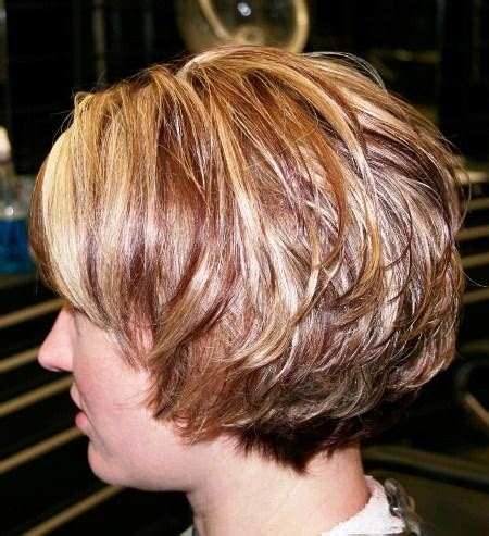 stacked hairstyles for 50 20 elegant haircuts for women over 50