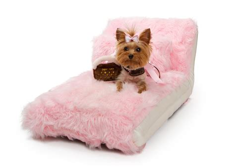 pink dog bed pink faux fur dog bed small dog bed luxury pet bed pet bed