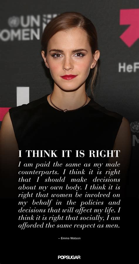 emma watson on feminism emma watson quotes on feminism popsugar love sex