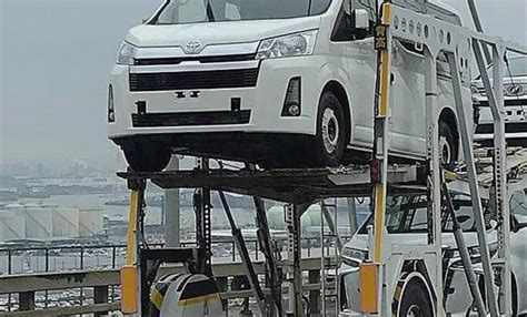 Toyota Hiace 2020 Japan by 2020 Toyota Hiace Spied Undisguised In Japan Go Flat Out