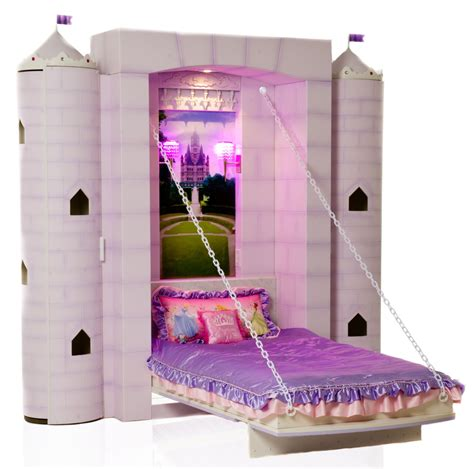 girls princess bed sleep in a spaceship amazing fantasy murphy beds for kids