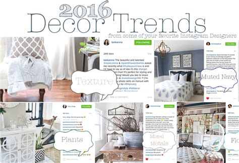 100 Home Design Trends The 2016 Home Decor Trends To Look For House Of Five