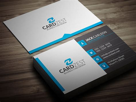 Square Icons Professional Business Card Template 187 Cardzest Professional Postcard Templates