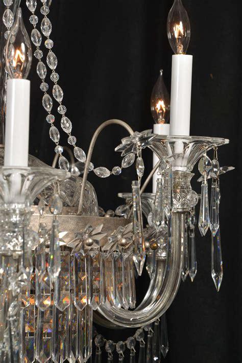 Nine Light Strass Crystal Chandelier At 1stdibs Strass Chandelier