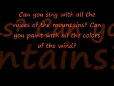 ashanti colors of the wind lyrics