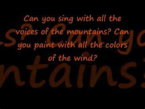 ashanti colors of the wind paroles colors of the wind ashanti