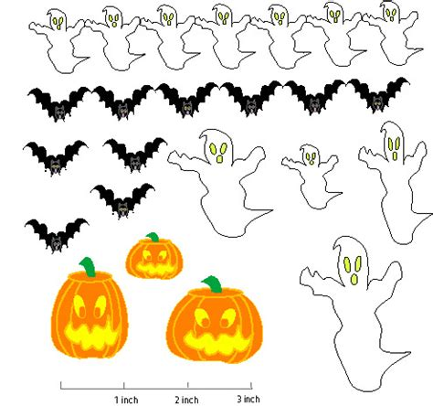 printable halloween decorations halloween printable decorations to color festival