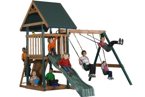 swing set cost wood swing sets can be fun for parents too