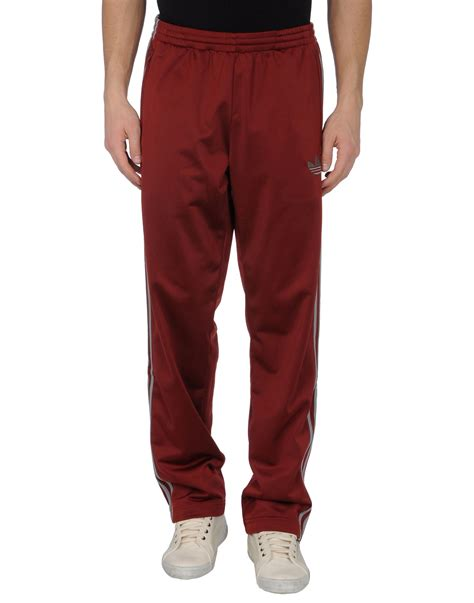 Sweat Pant 34 Maroon adidas sweatpants in for maroon lyst