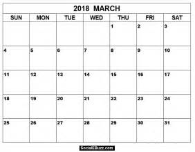 Calendar 2018 March Uk March 2018 Calendar Printable Template With Holidays Pdf