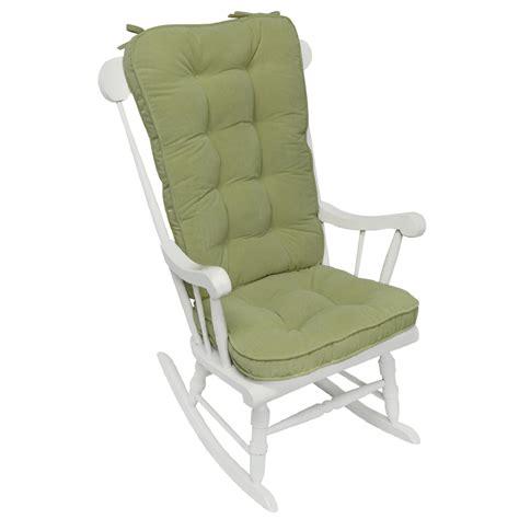 rocking chair pad set greendale home fashions hyatt jumbo rocking chair cushion