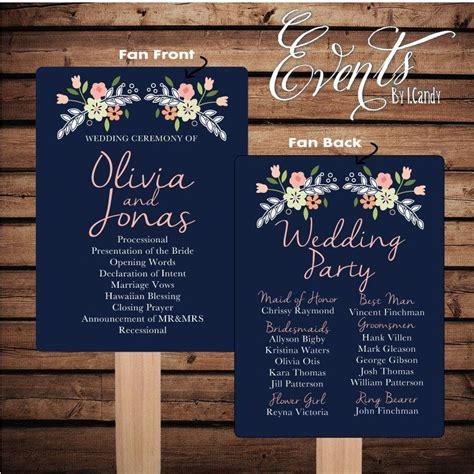 custom printed fans for weddings printed sle for 2 dollars or sets of 50 custom printed