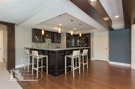 pictures of bars in finished basements basement walk bar contemporary basement