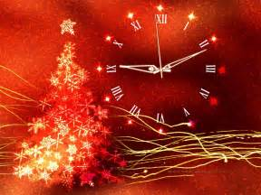 Clock live wallpaper for windows gold glow christmas clock screenshots