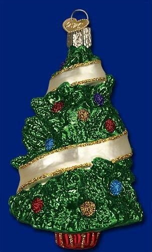 painted hand christmas trees sentimental tree world painted glass ornament 48032 ebay