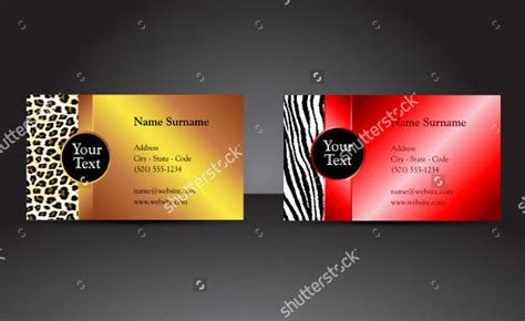 fancy business card templates 25 fancy business card templates free premium