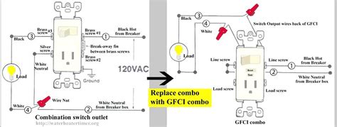 combination switch receptacle wiring diagram wiring