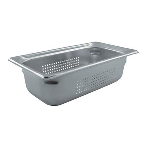 Kitchen Steam Table Vollrath 90343 Third Size 4 In Perforated Steam Tab Etundra