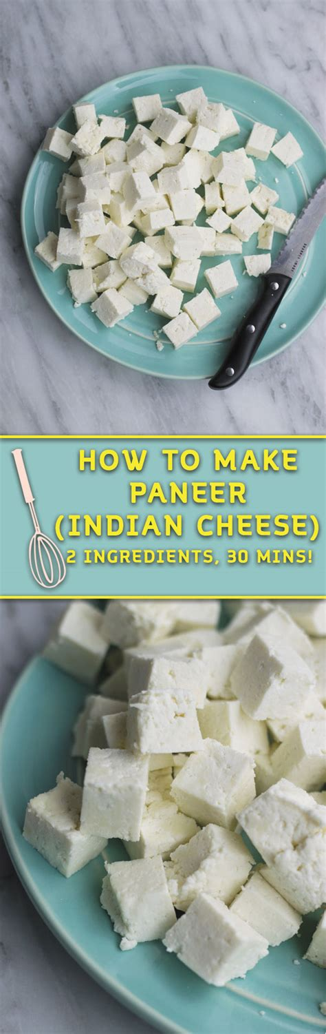 how to make paneer with just 2 ingredients naive cook