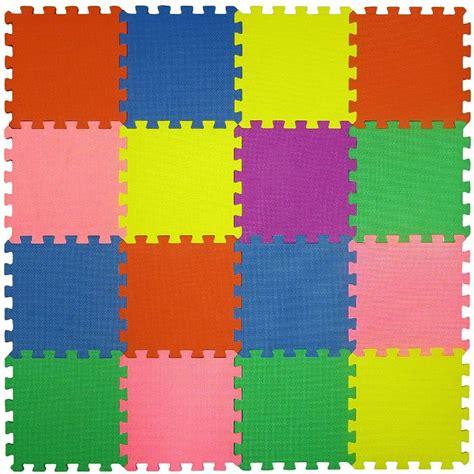 66 16 large interlocking puzzle foam tile soft