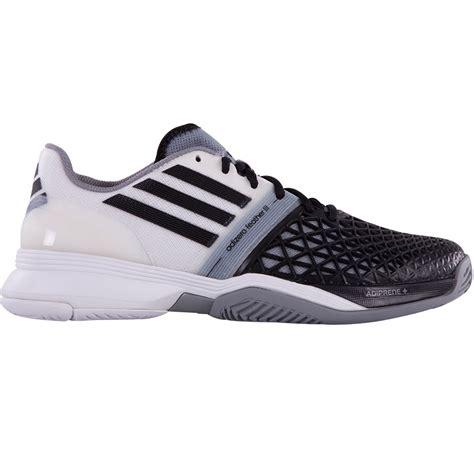 adidas adizero feather iii s tennis shoe black white