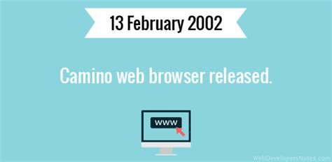 camino web browser camino web browser released