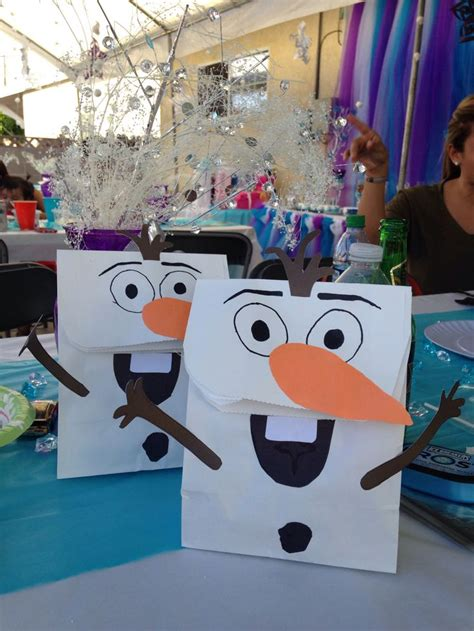 frozen candy bags olof frozen bday party pinterest frozen candy bags candy  frozen