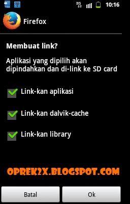 membuat link ke sd card cara memindahkan aplikasi android ke sd card oprek2x