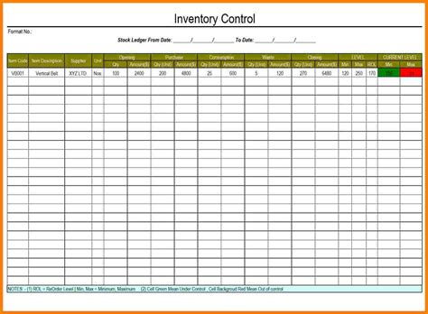 Petty Cash Ledger Template