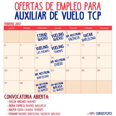 ofertas de empleo para promotoras azafatas ofertas de empleo para auxiliar de vuelo tcp en febrero de