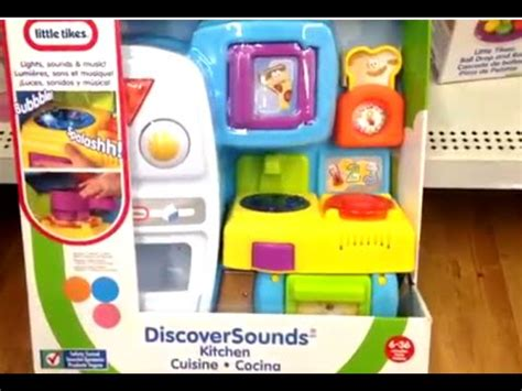 Tikes Discover Sounds Kitchen by Discover Sounds Kitchen By Tikes