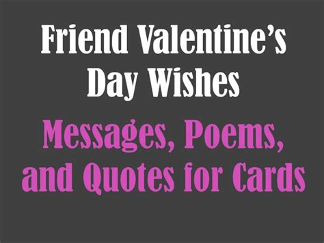 valentines card messages for friends friend s day messages poems and quotes