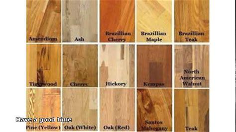 types of hardwood floors   YouTube