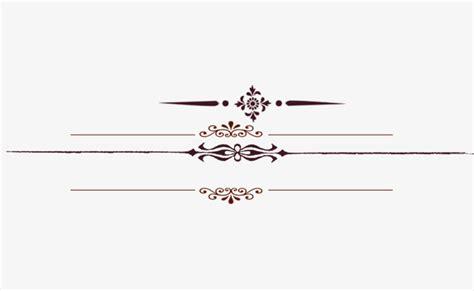 decorative line html european decorative line taobao details page dividing
