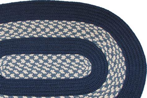 navy braided rug 1620 williamsburg blue navy braided rug