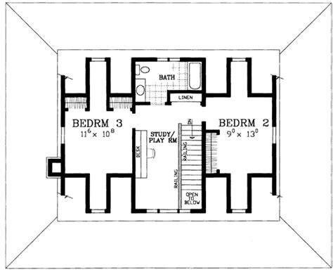 american classic house plan 81418w architectural