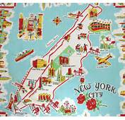 Welcome To New York City – A Map For Some Kind Of Game Based On The