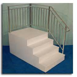 Fiberglass Stairs by Steps Oliver Technologies Inc