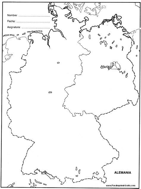 Mapa Para Imprimir Gratis Paraimprimirgratiscom | mapa de alemania para imprimir gratis