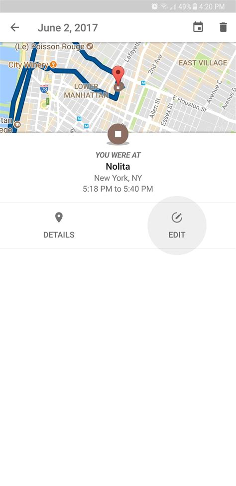 Android Location History by Maps 101 How To View Manage Your Location