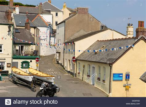 boat store kingsand cawsand village cornwall england uk on the rame peninsula