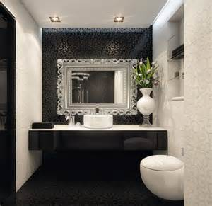 Small Black And White Bathrooms Ideas Small Bathroom Black And White Small Bathroom Designs