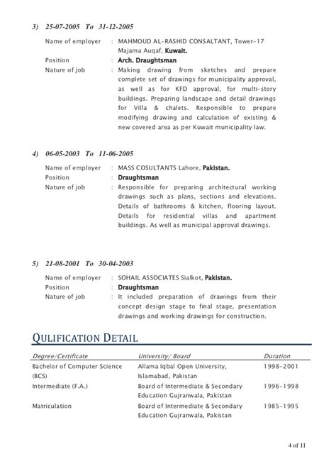 senior architect cover letter senior architecture draughtsman auto cad draftsman